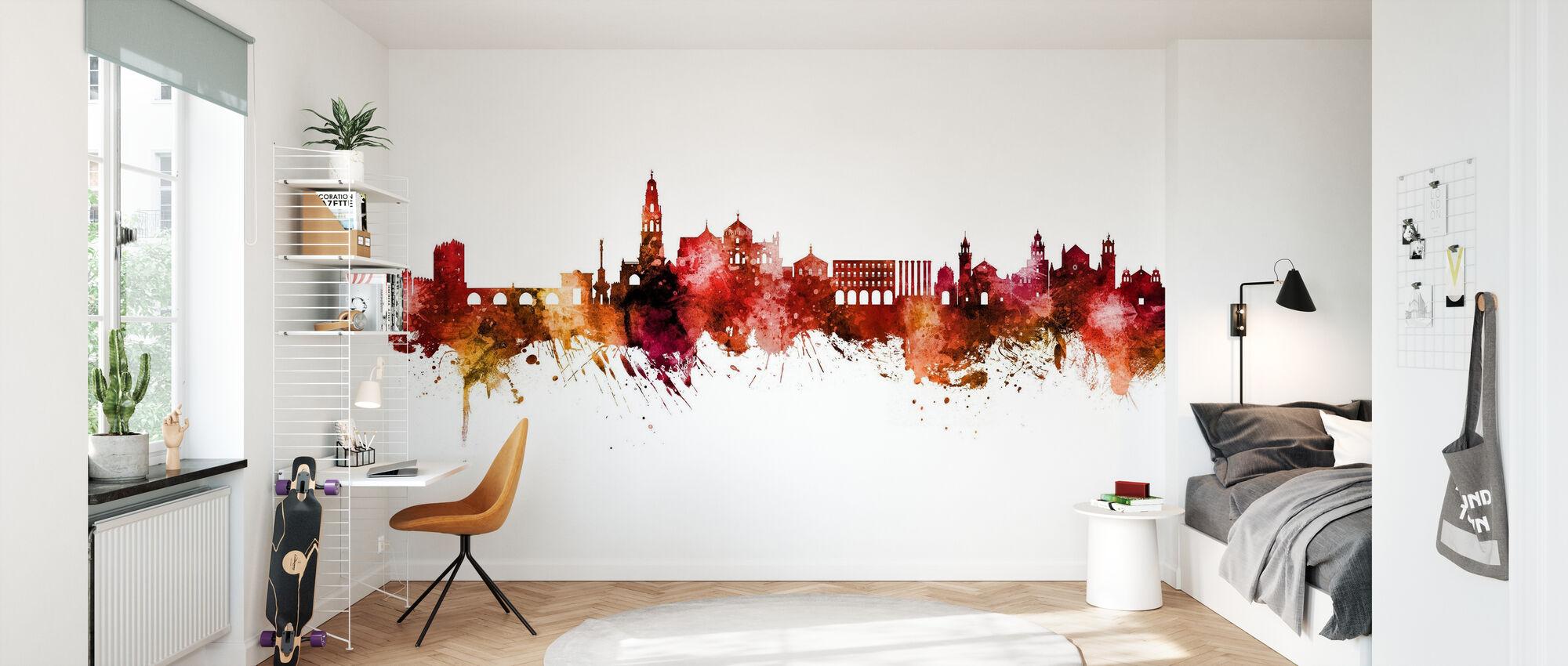 Cordoba Spain Skyline - Wallpaper - Kids Room