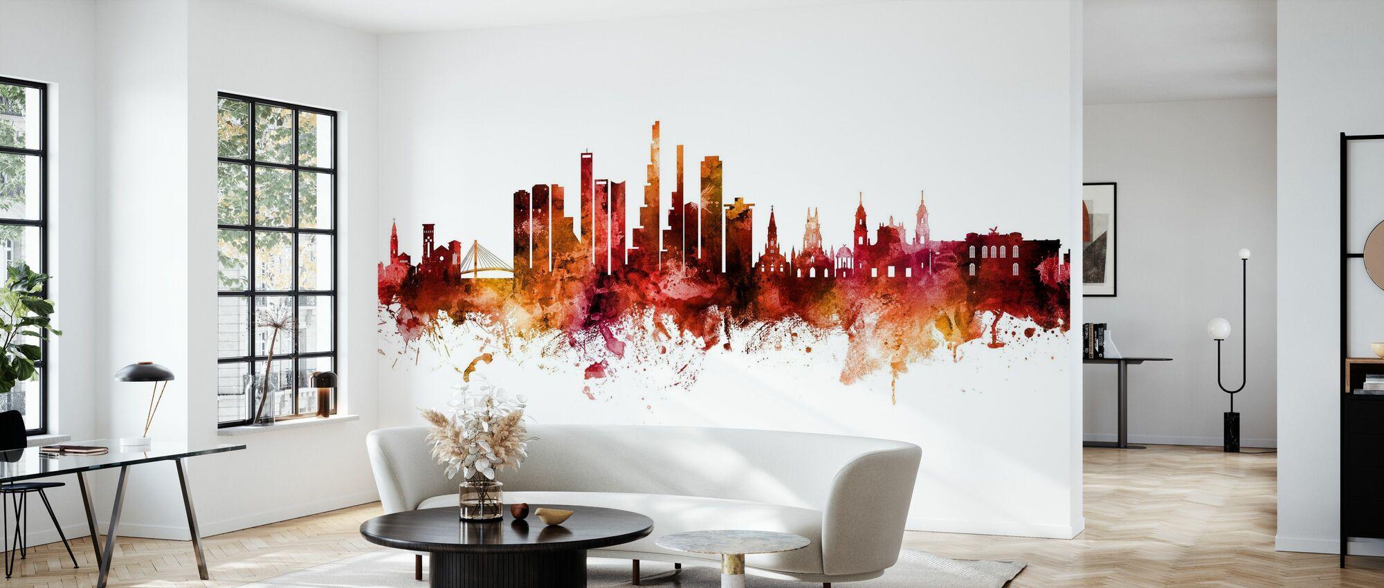 Bogota Colombia Skyline - Wallpaper - Living Room