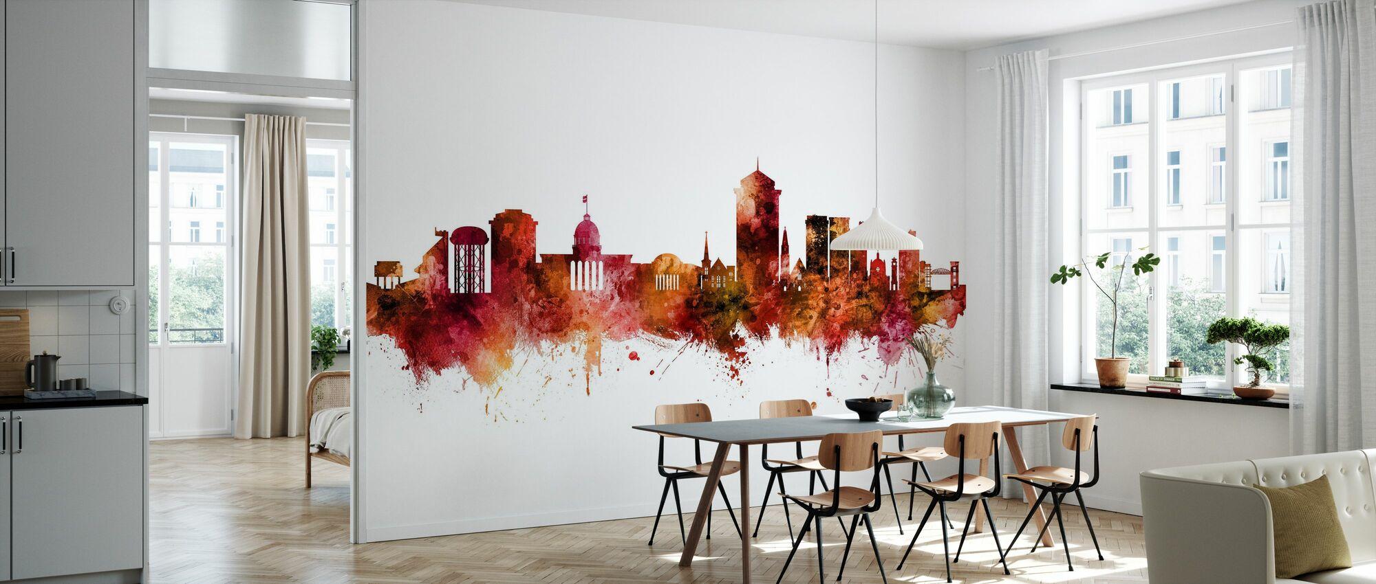 Montgomery Alabama Skyline - Wallpaper - Kitchen
