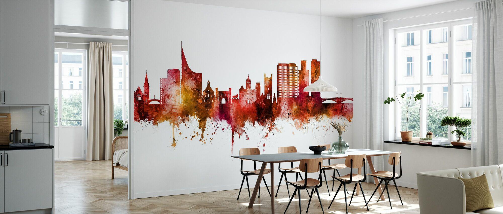 Reading England Skyline - Wallpaper - Kitchen