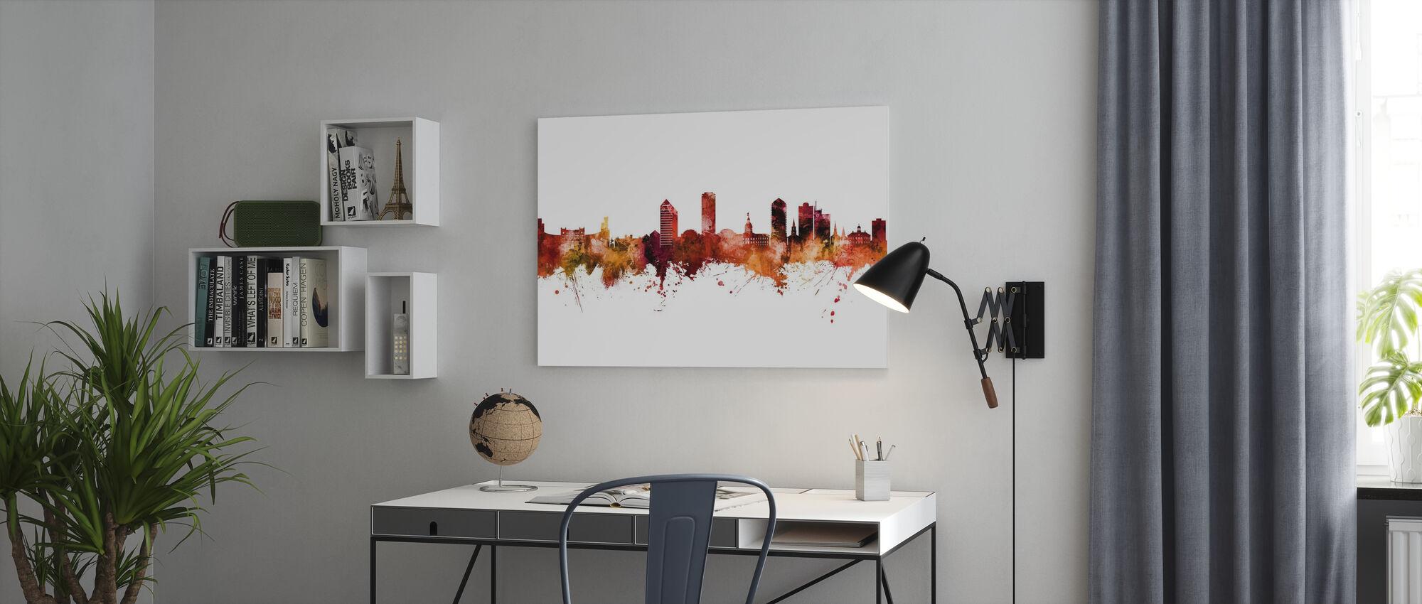 Tallahassee Florida Skyline - Canvas print - Office