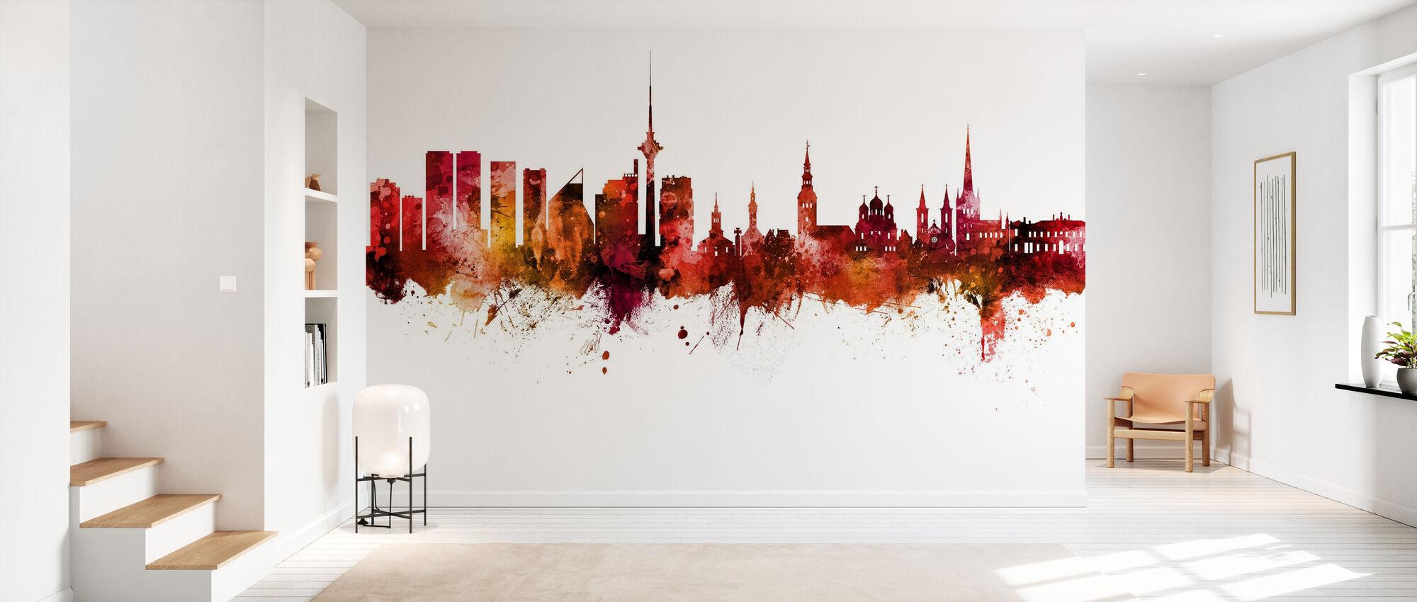 Tallinn Estonia Skyline - Wallpaper - Hallway