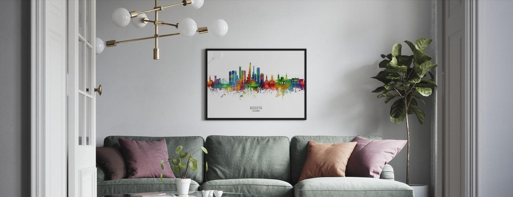 Bogotá Colombias skyline - Plakat - Stue