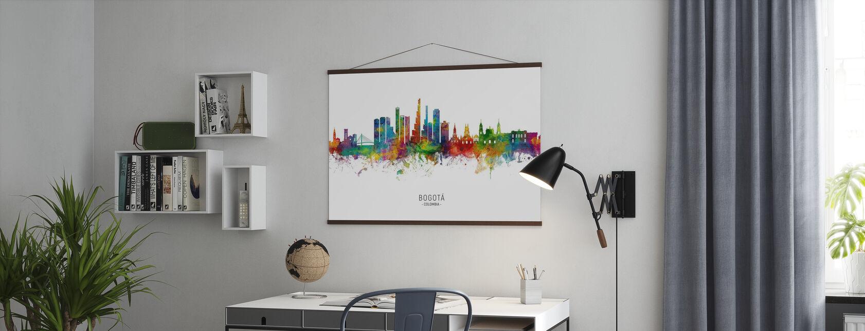 Bogotá Colombias skyline - Plakat - Kontor