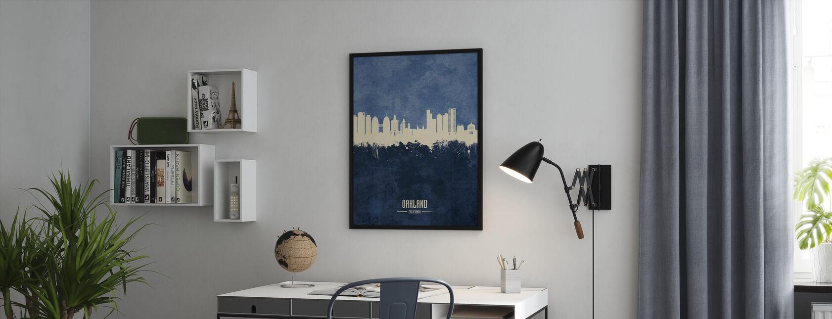 Oakland California Skyline - Plakat - Kontor