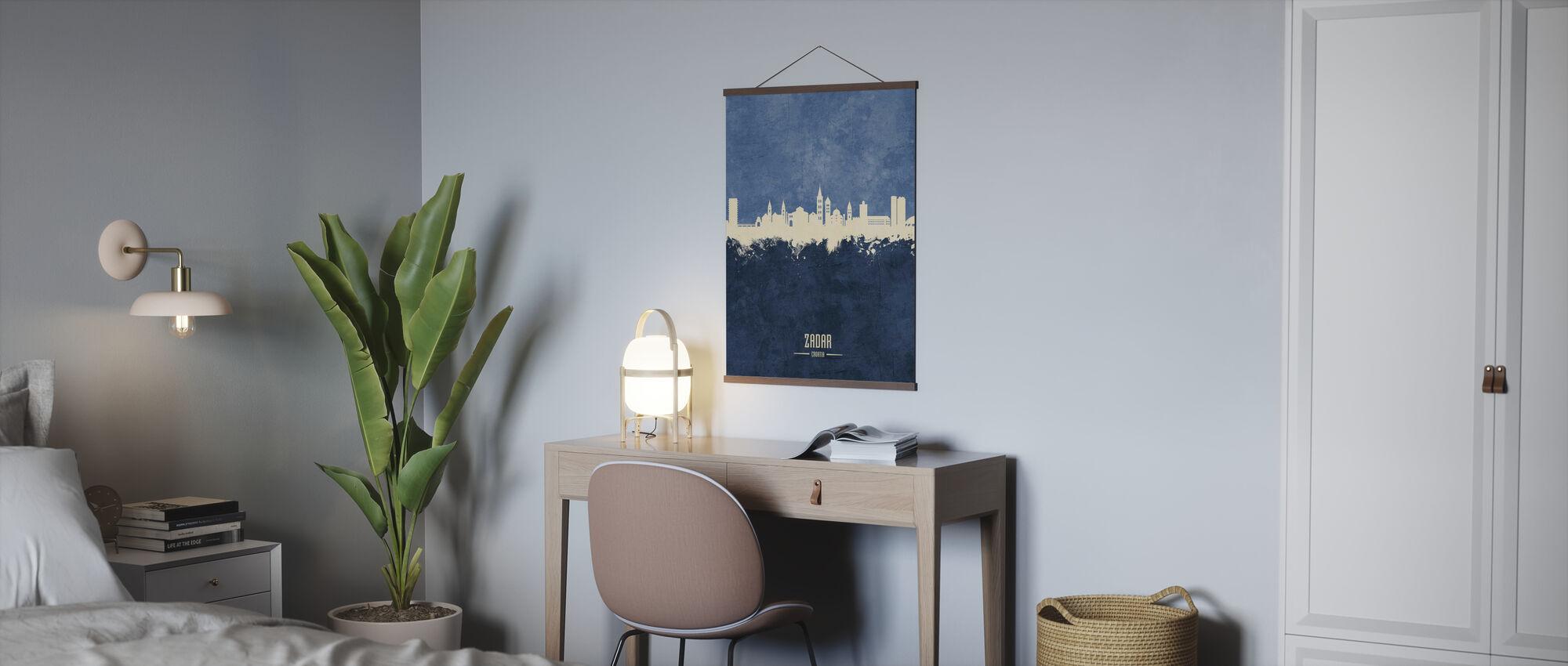 Zadar Croatia Skyline - Poster - Office