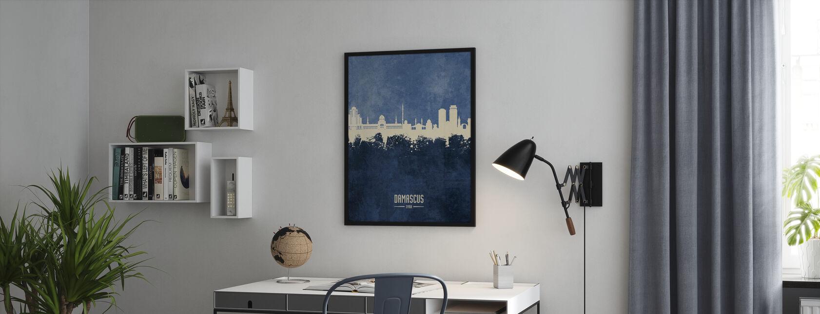Damaskus Syriens skyline - Plakat - Kontor