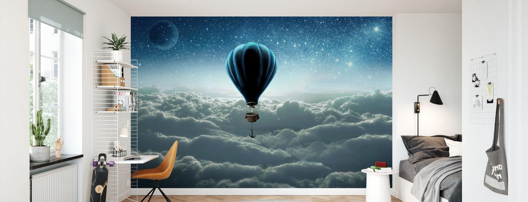 Hot Air Balloon - Wallpaper - Kids Room