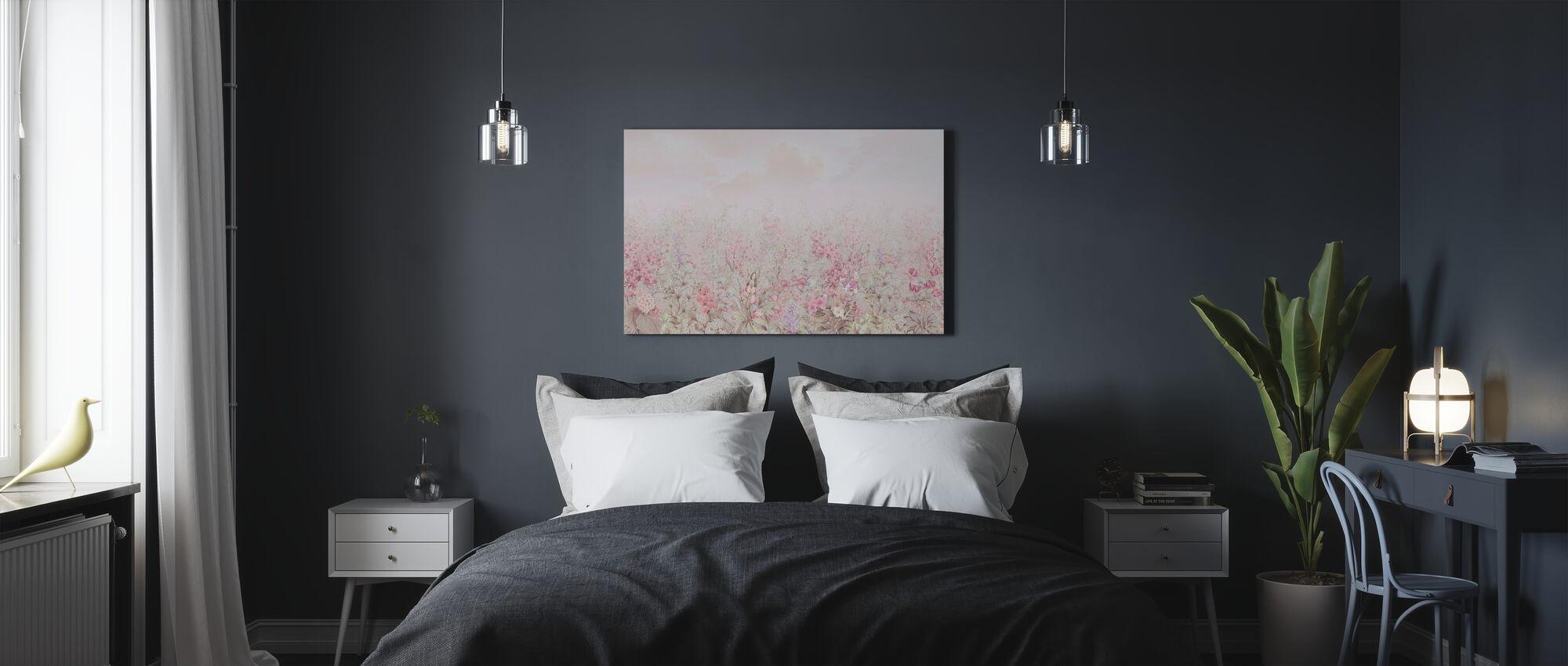 Bladeren van Flora - Canvas print - Slaapkamer