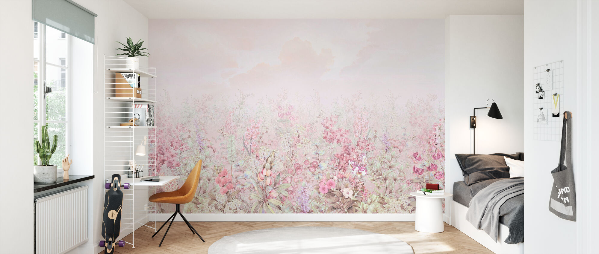 Leaves of Flora - Wallpaper - Kids Room