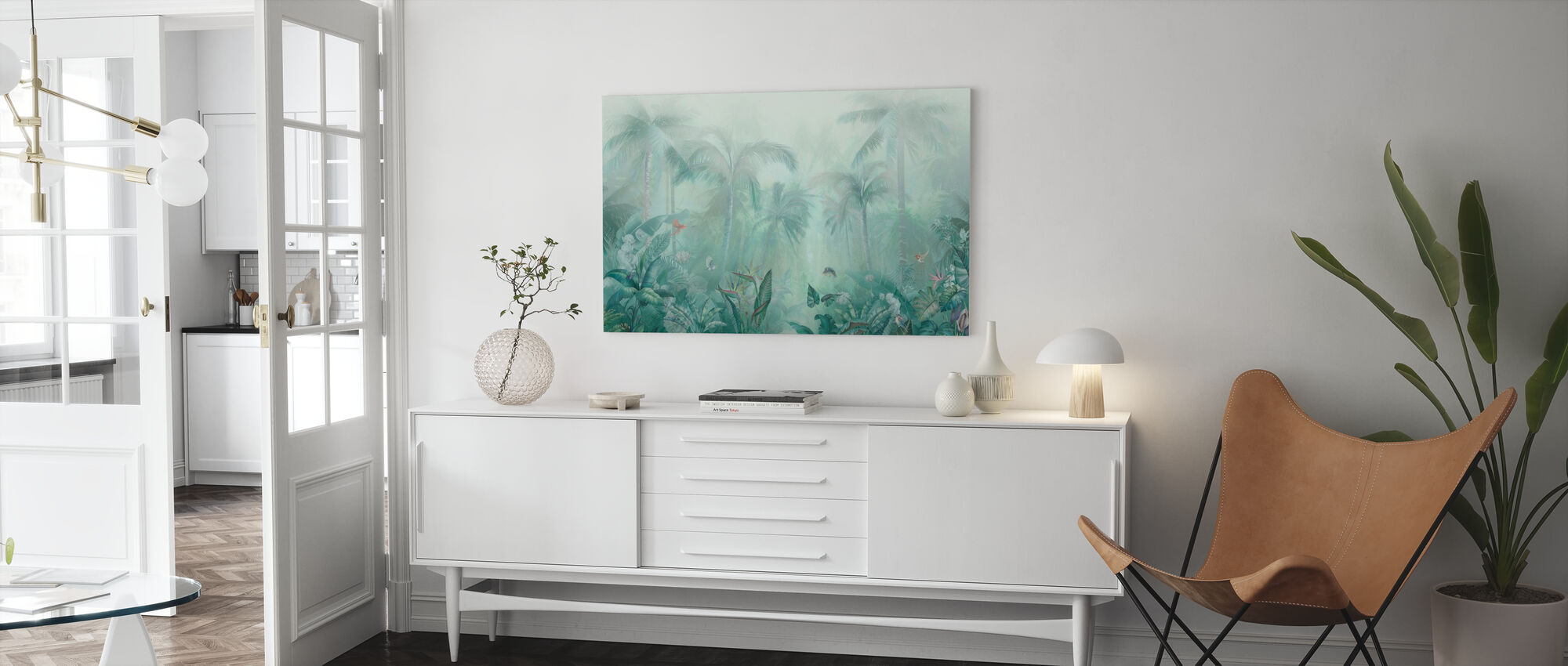 Green Forest - Canvas print - Living Room