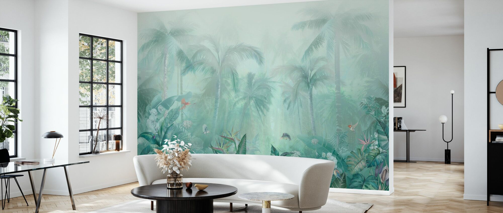 Green Forest - Wallpaper - Living Room