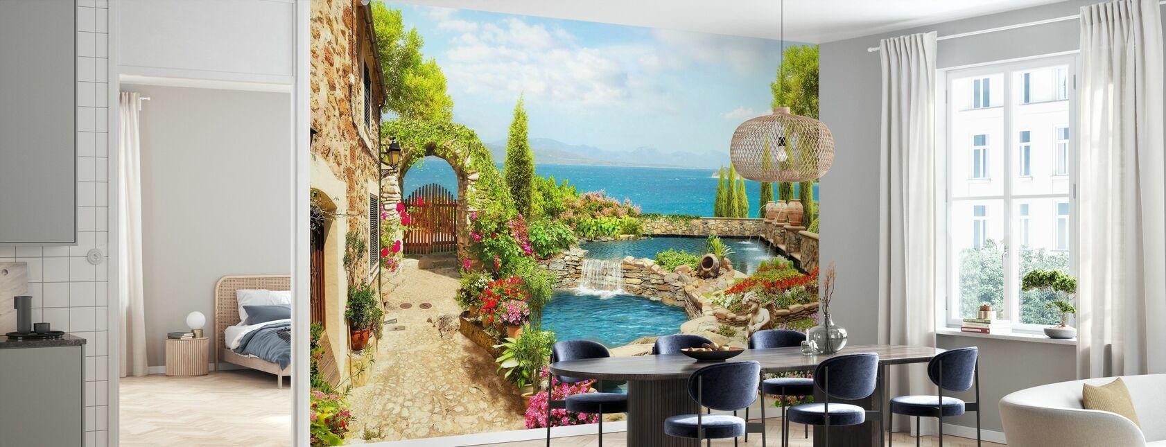 Landscape Garden - Wallpaper - Kitchen