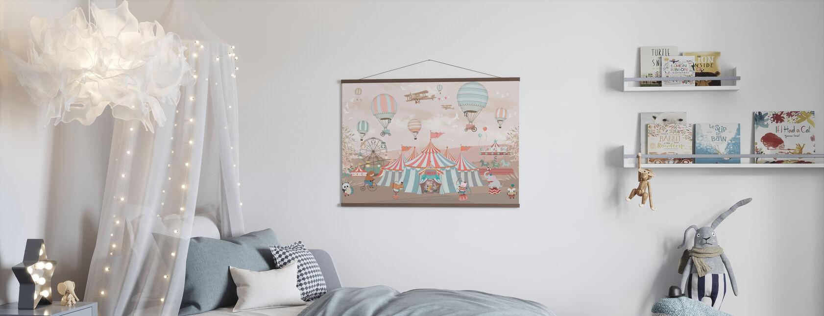 Circus Animals - Poster - Kids Room
