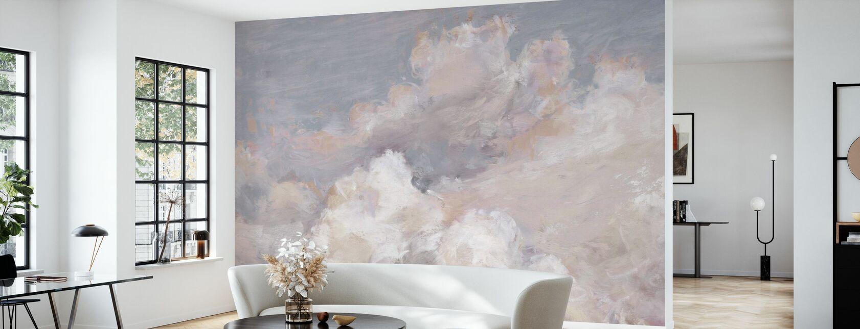 Daydream Neutral 01 - Wallpaper - Living Room