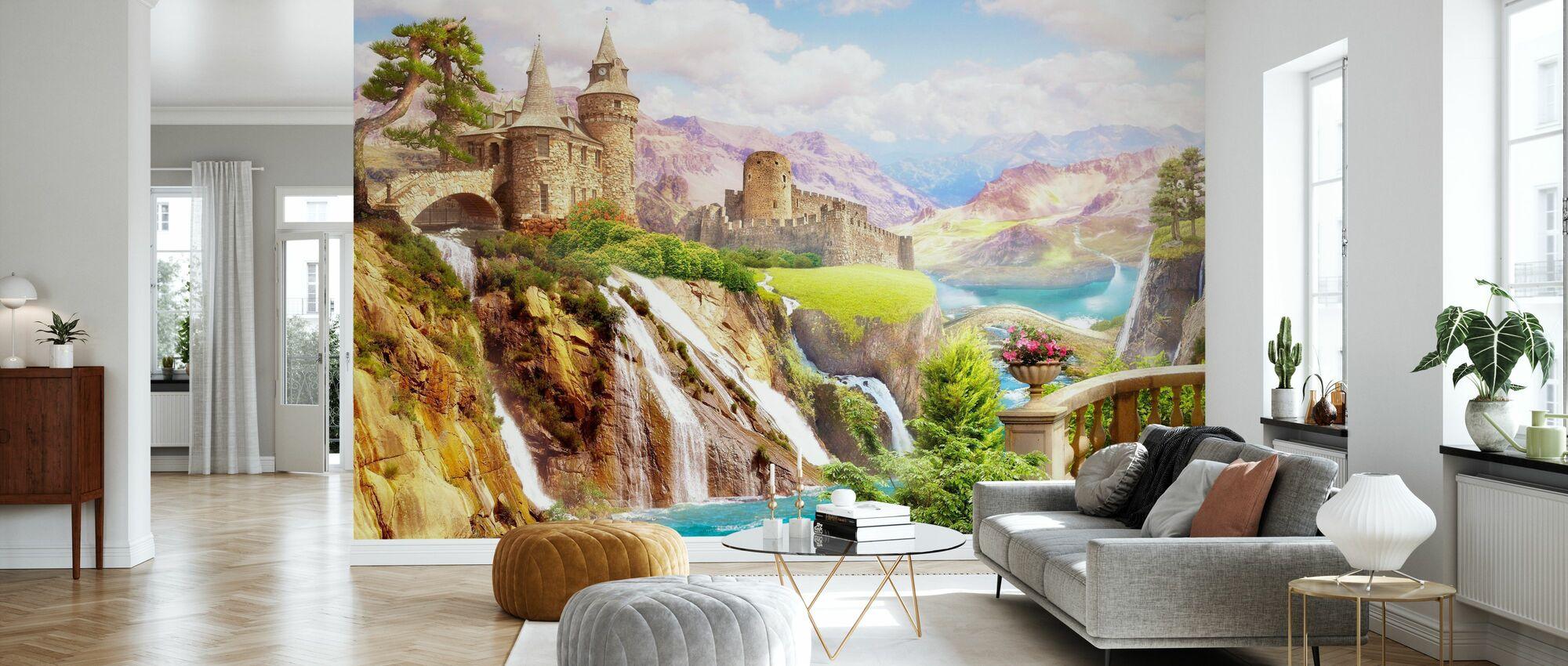 Castles - Wallpaper - Living Room