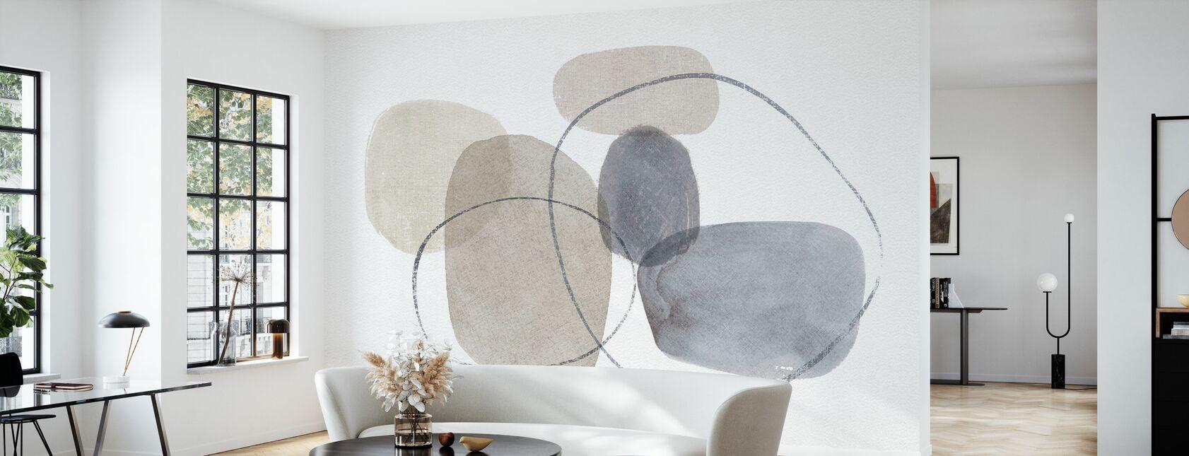 Think Neutral 06A - Wallpaper - Living Room