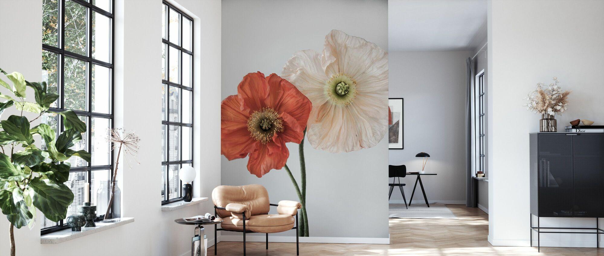 Vallmo 3 - Wallpaper - Living Room