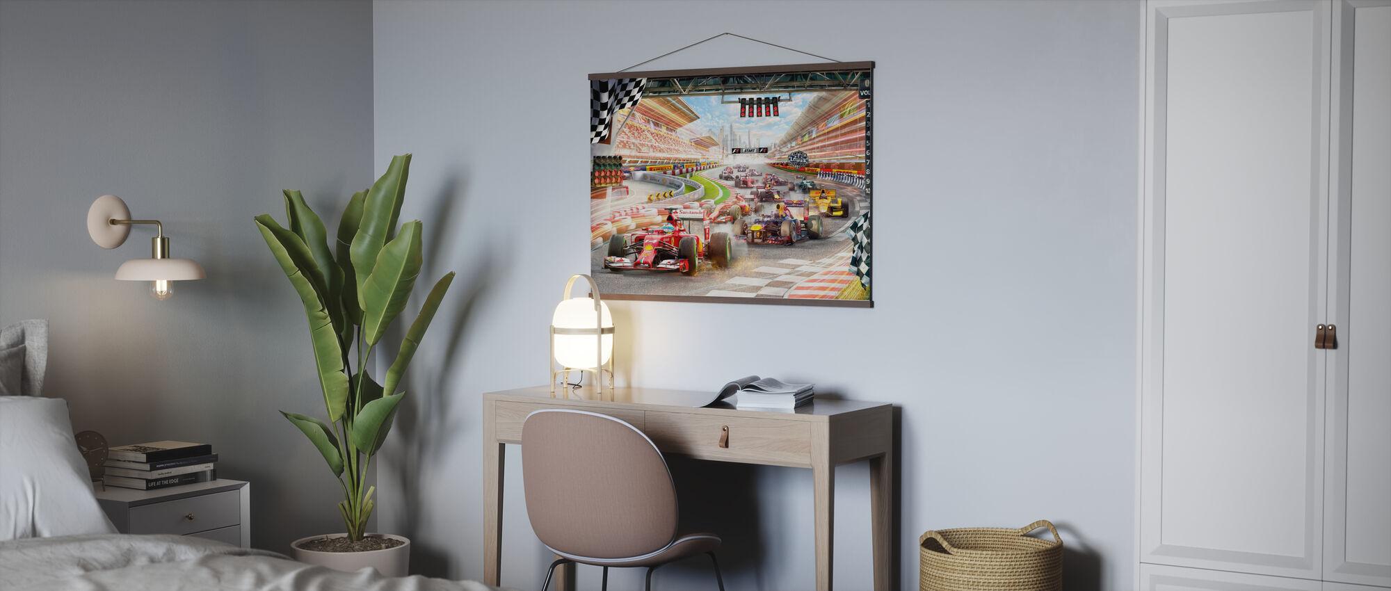 Formula 1 - Poster - Office
