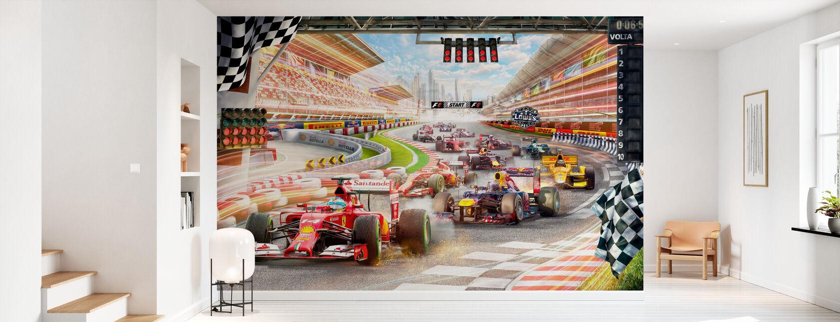 Formel 1 - Tapete - Flur