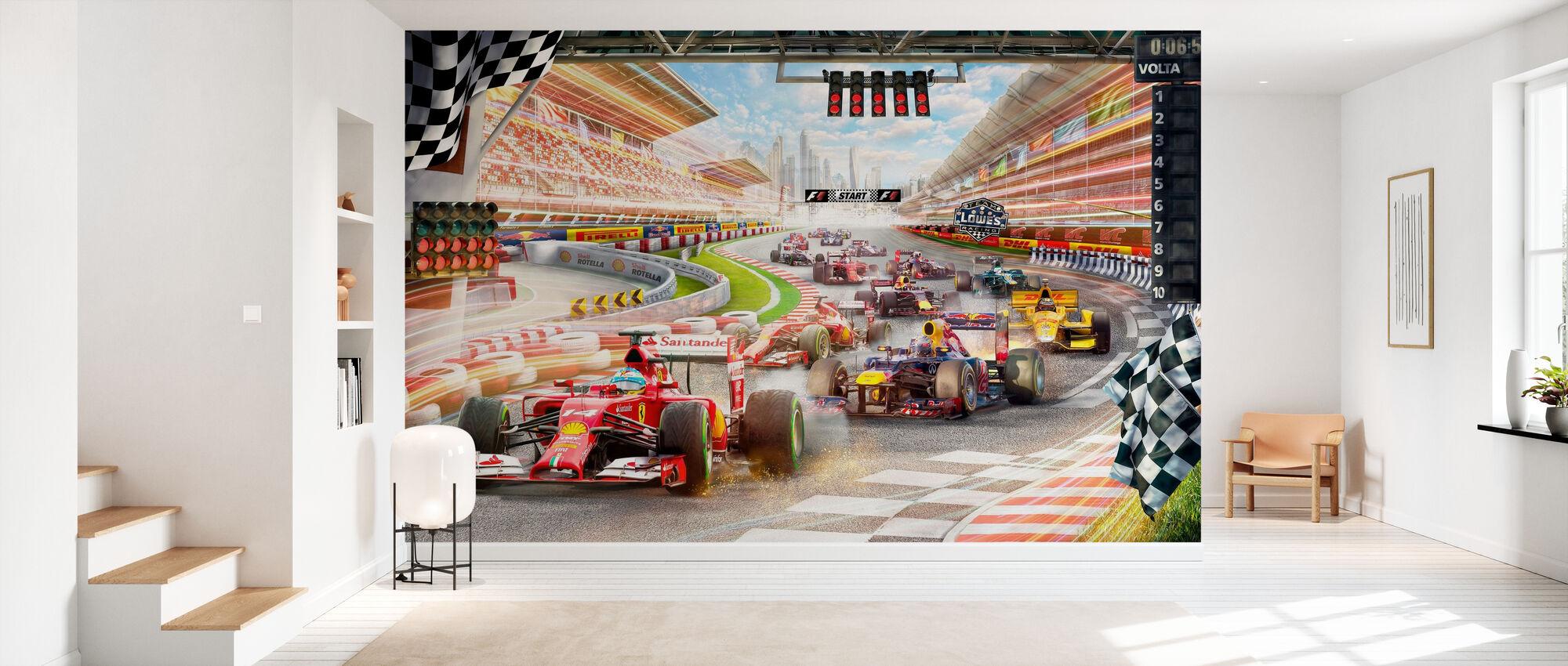 Formula 1 - Wallpaper - Hallway