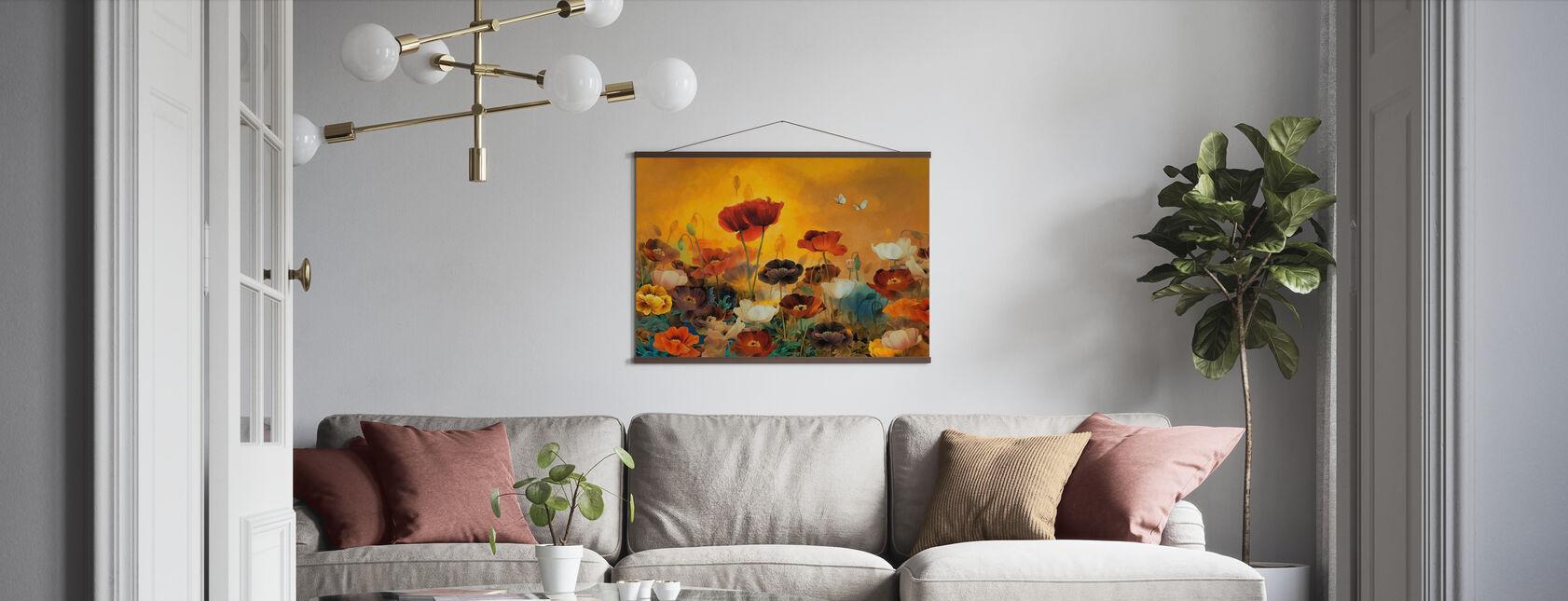 Mohnblumen Mohnblumen - Poster - Wohnzimmer