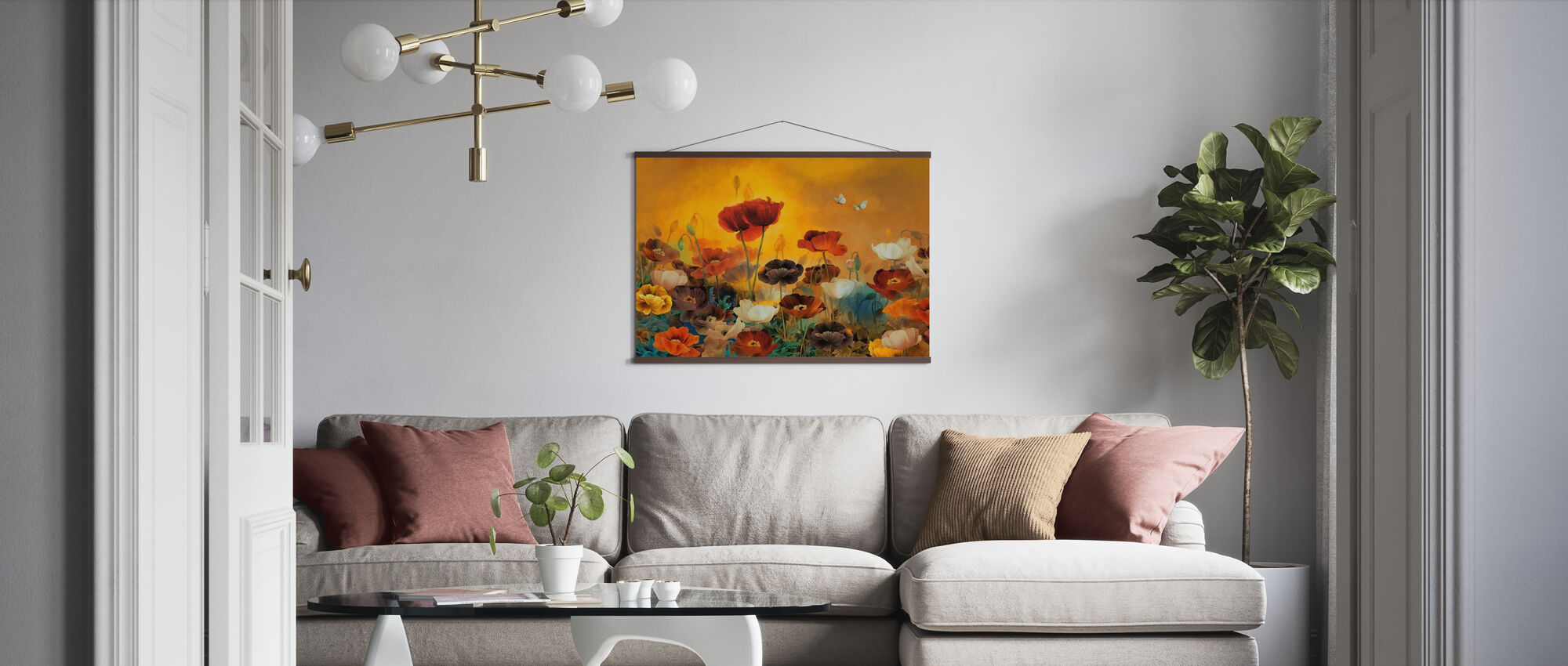 Poppies Poppies - Poster - Living Room