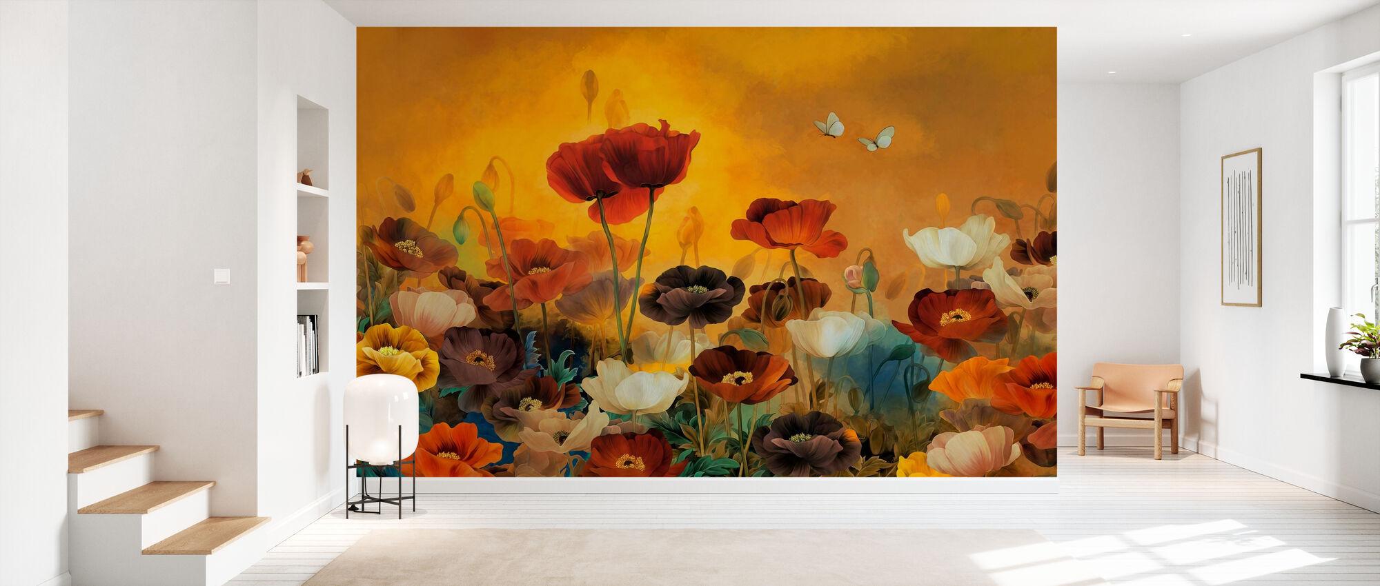 Poppies Poppies - Wallpaper - Hallway