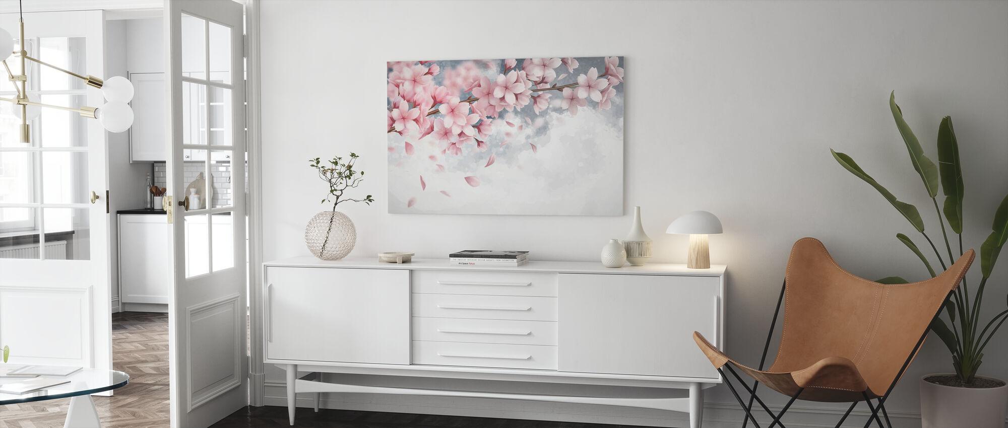 Sakura Bloom - Canvas print - Living Room