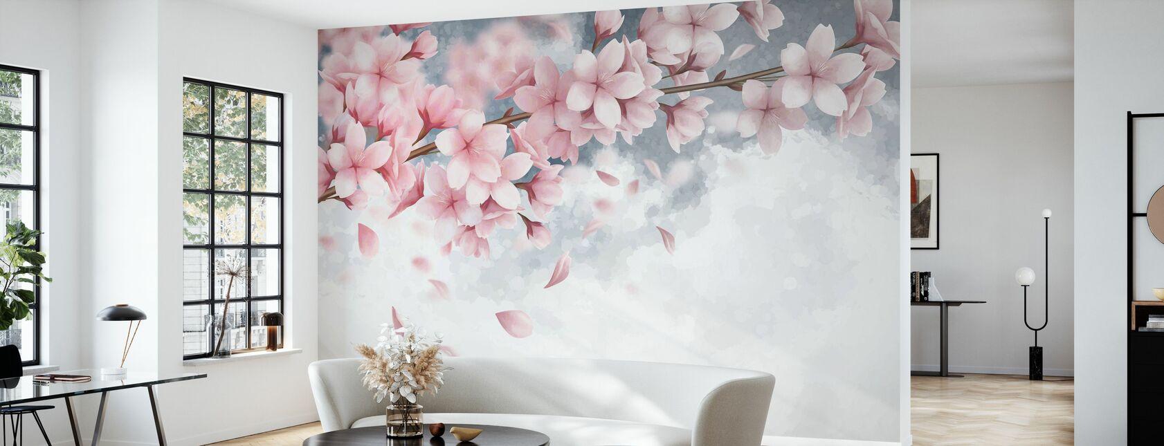 Sakura Bloom - Tapet - Vardagsrum