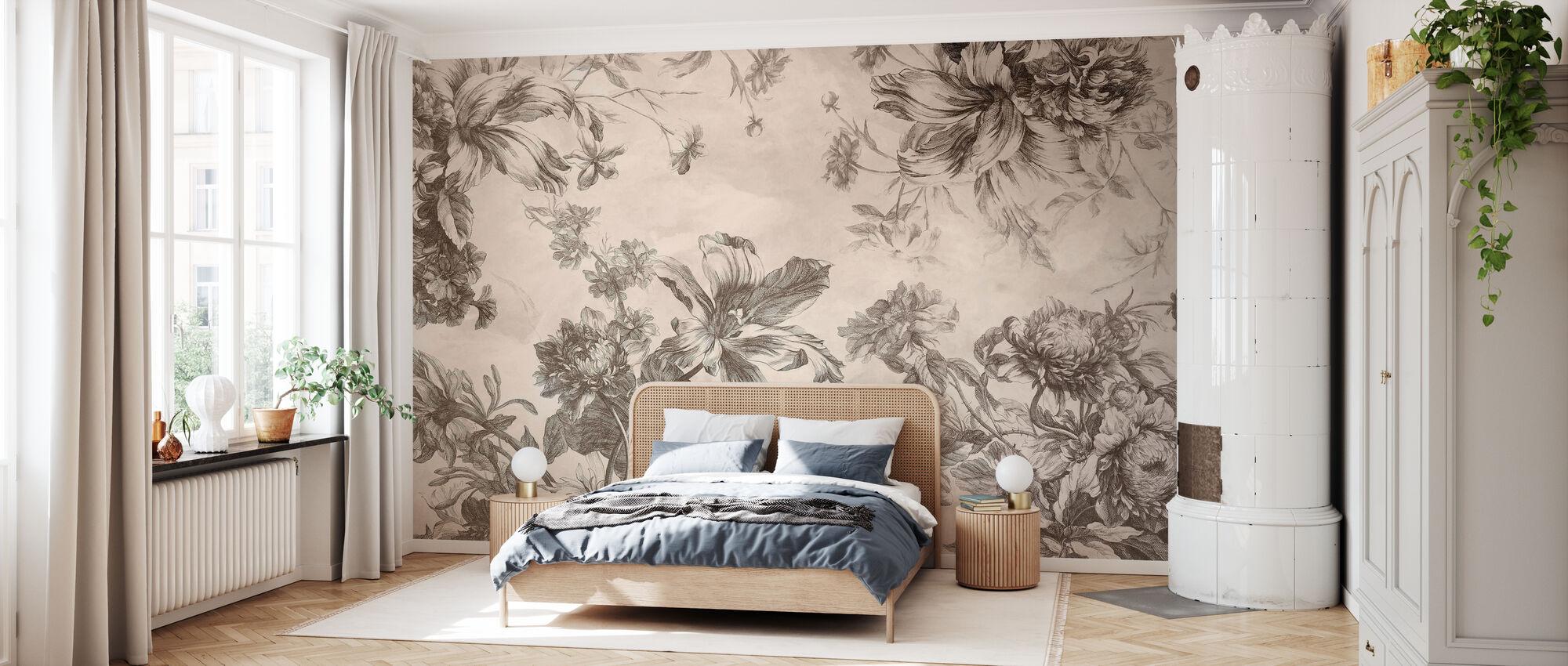 Vintage Floral - Wallpaper - Bedroom
