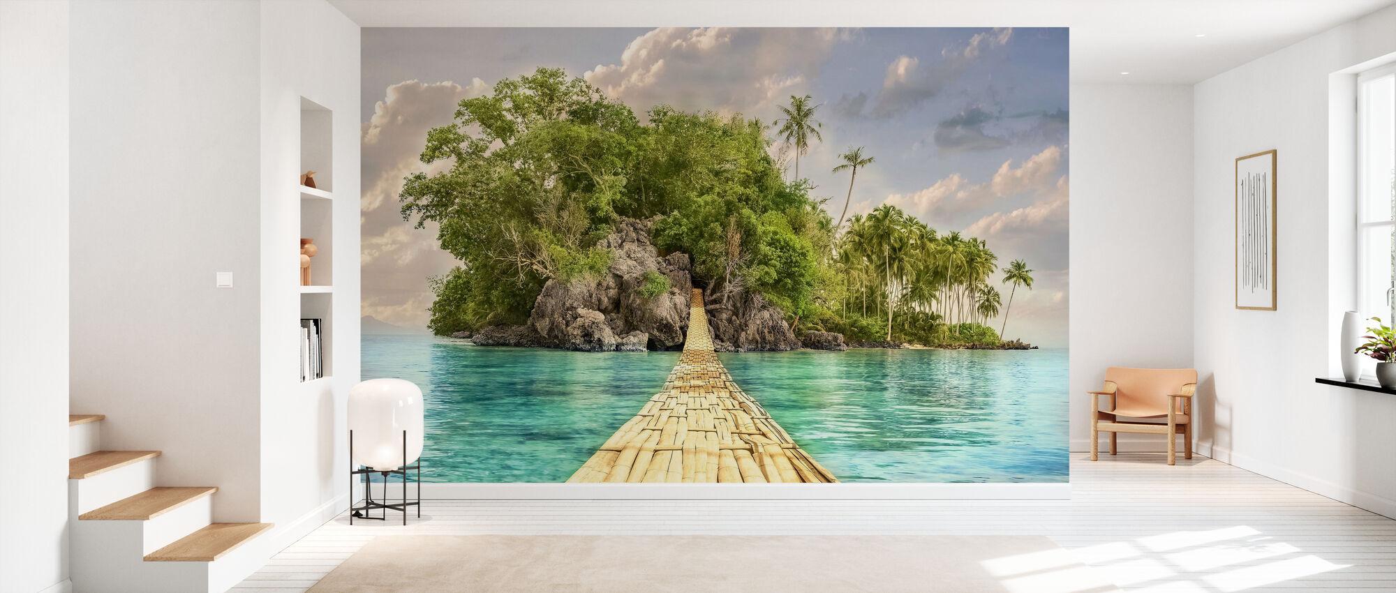 Pathway to the Island - Wallpaper - Hallway