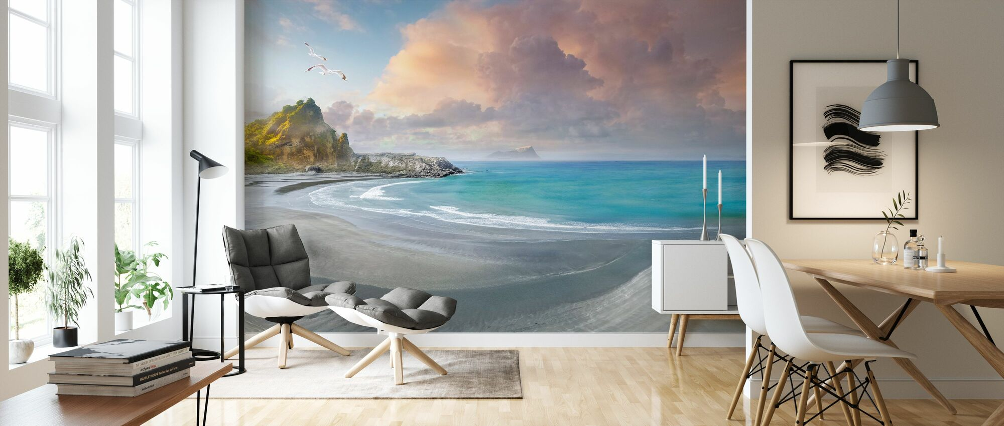 Beach Ridge - Wallpaper - Living Room