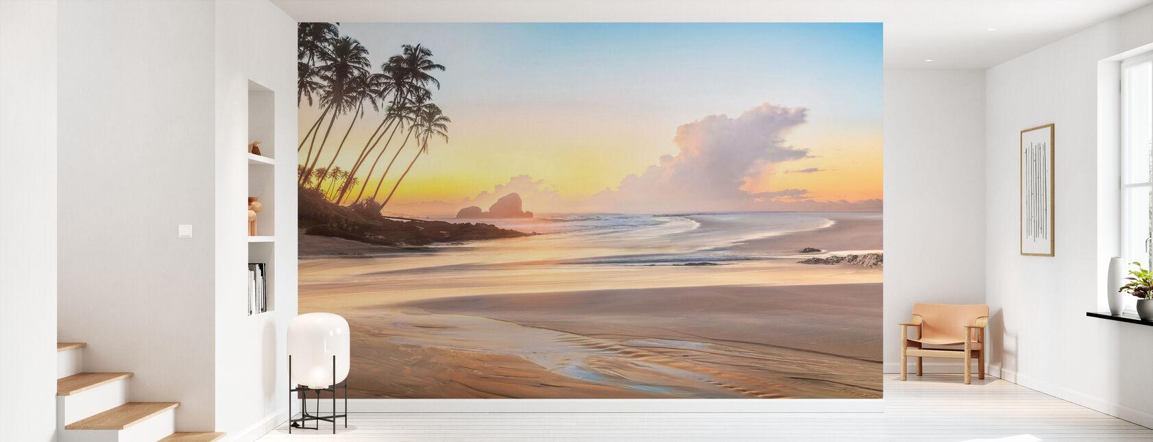 Spiaggia di riva - Carta da parati - Sala