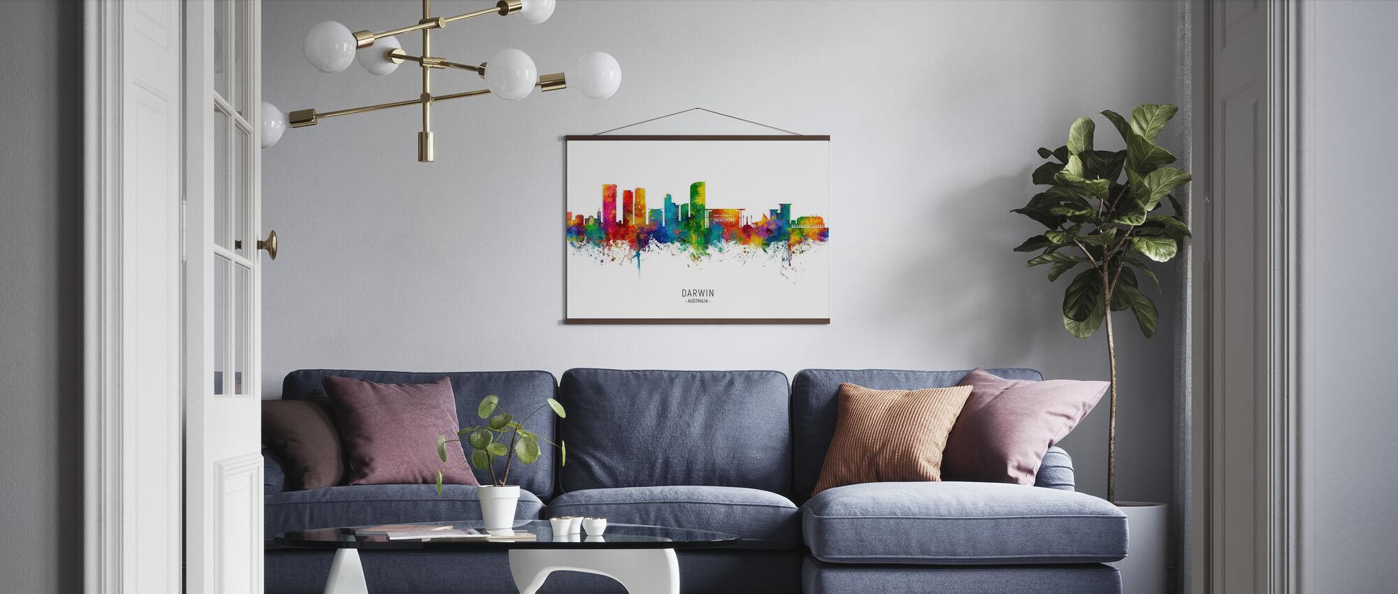 Darwin Australia Skyline - Poster - Vardagsrum