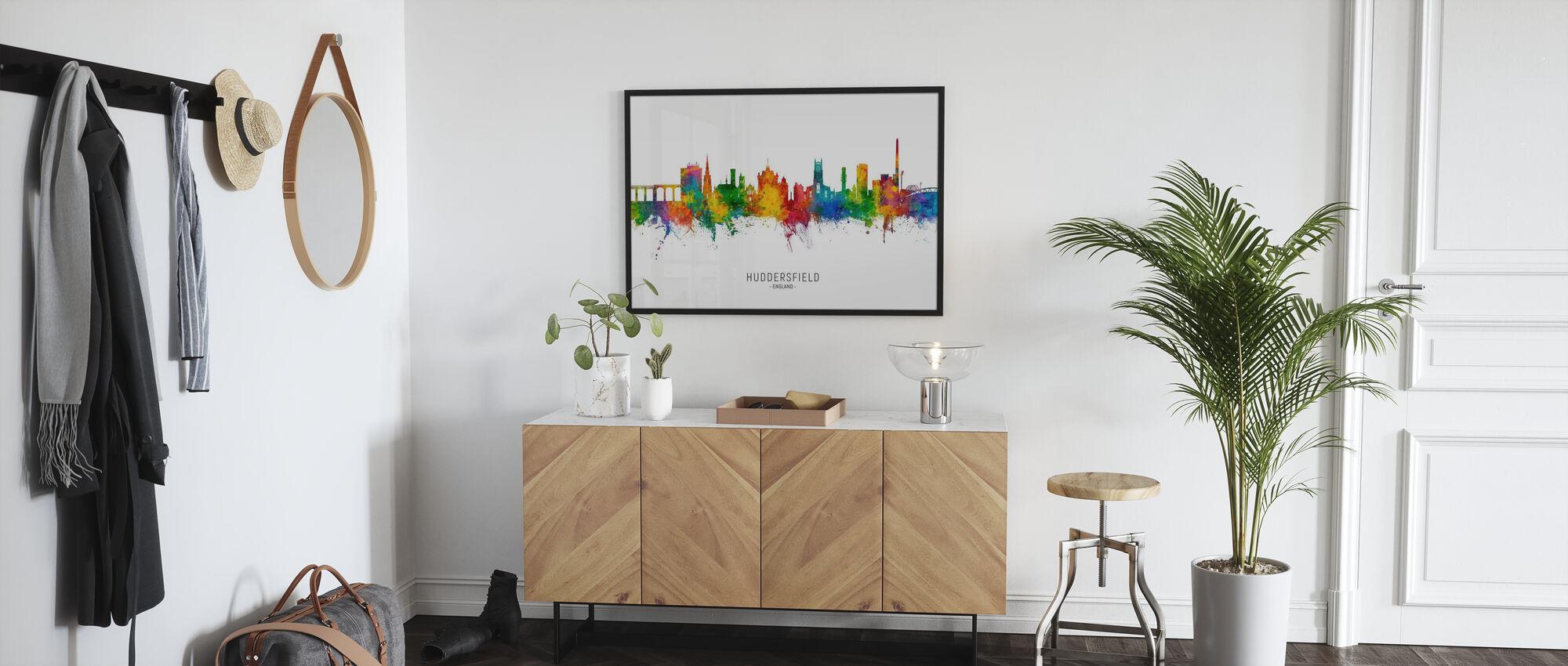 Huddersfield England Skyline - Poster - Hallway
