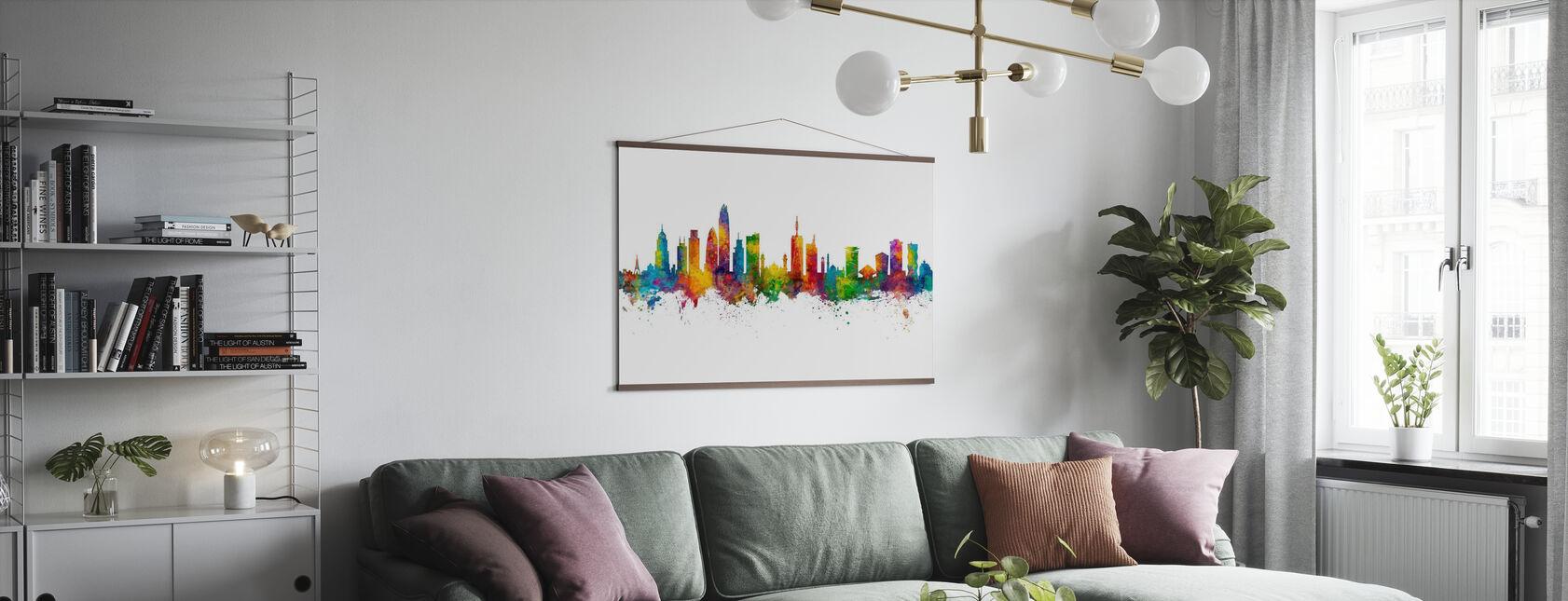 Nairobi Kenya Skyline - Plakat - Stue