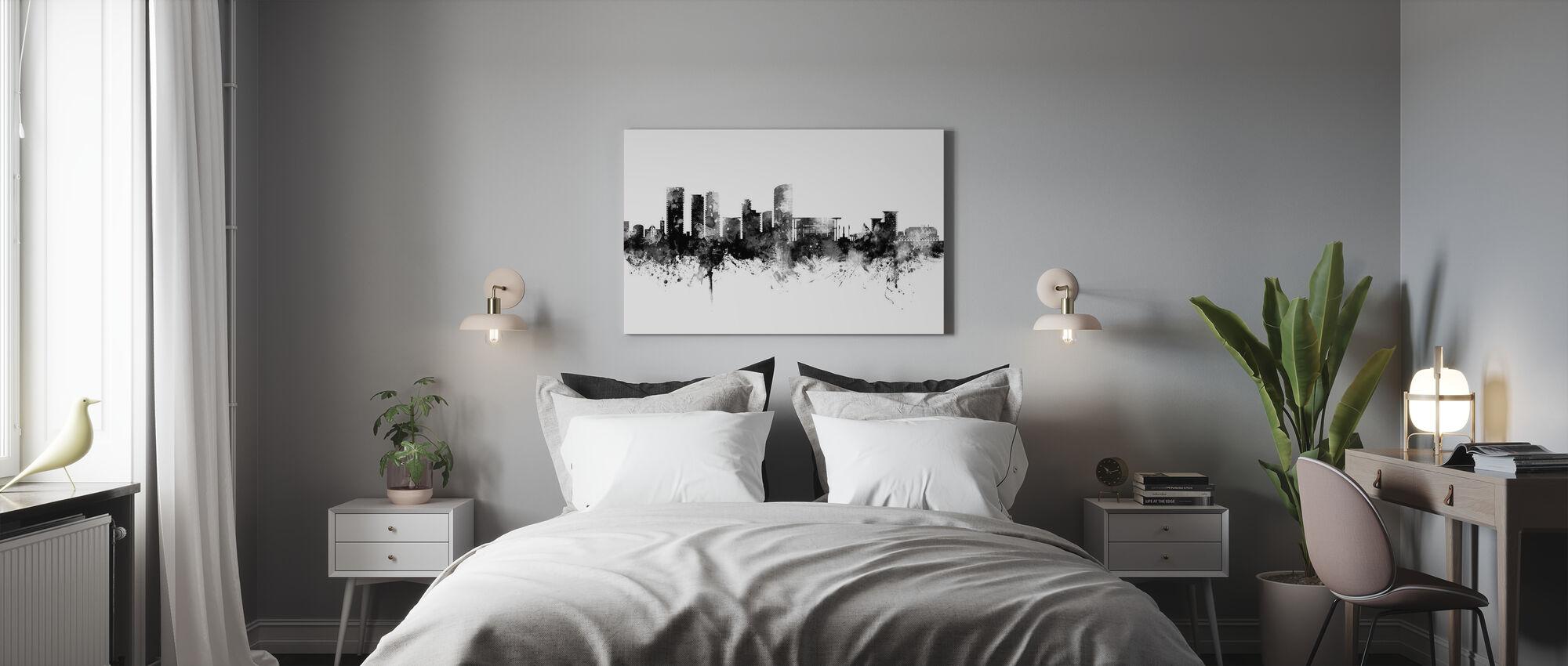 Darwin Australien Skyline - Billede på lærred - Soveværelse