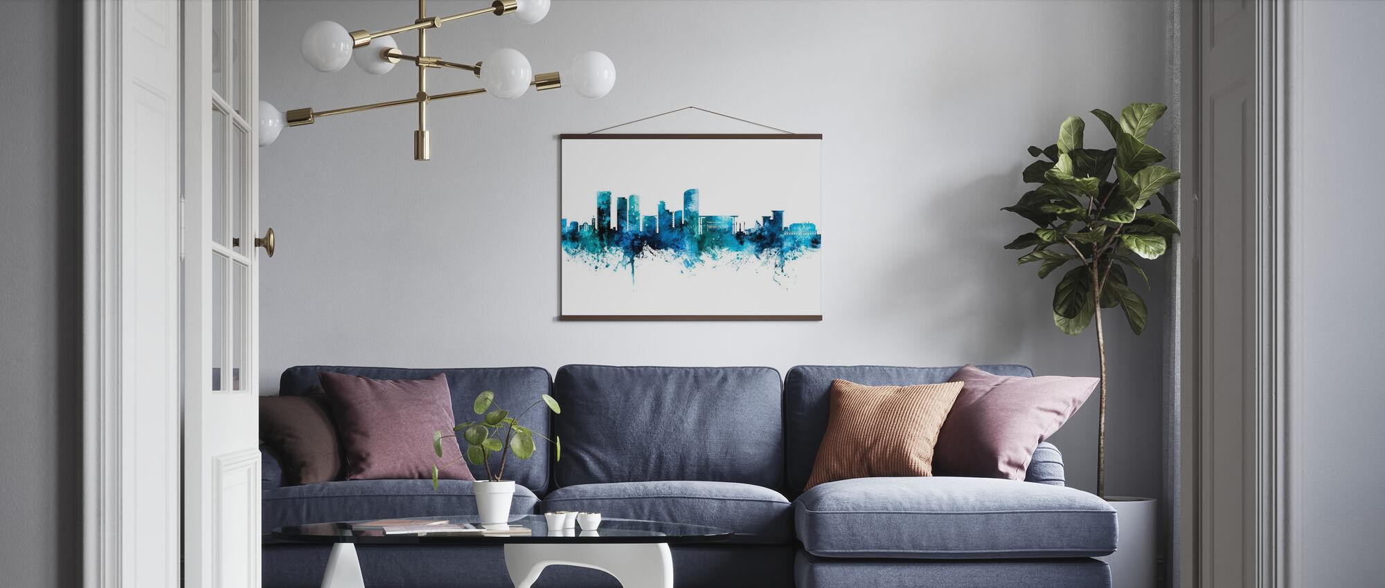 Skyline von Darwin Australien - Poster - Wohnzimmer