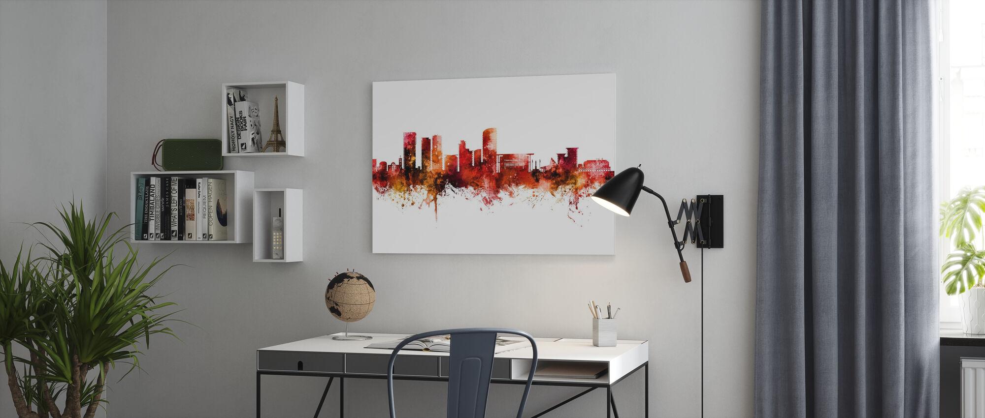 Darwin Australia Skyline - Canvas print - Office