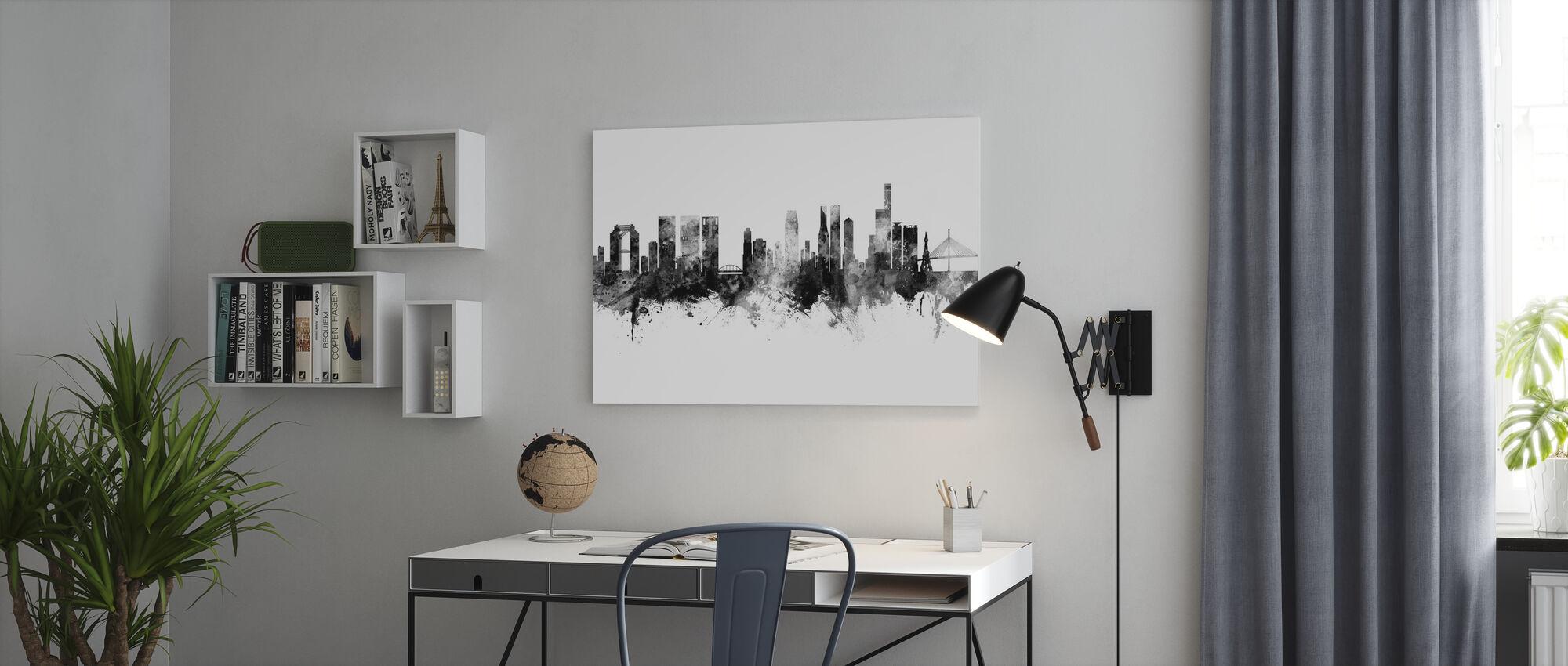 Osaka Japan Skyline - Canvas print - Office