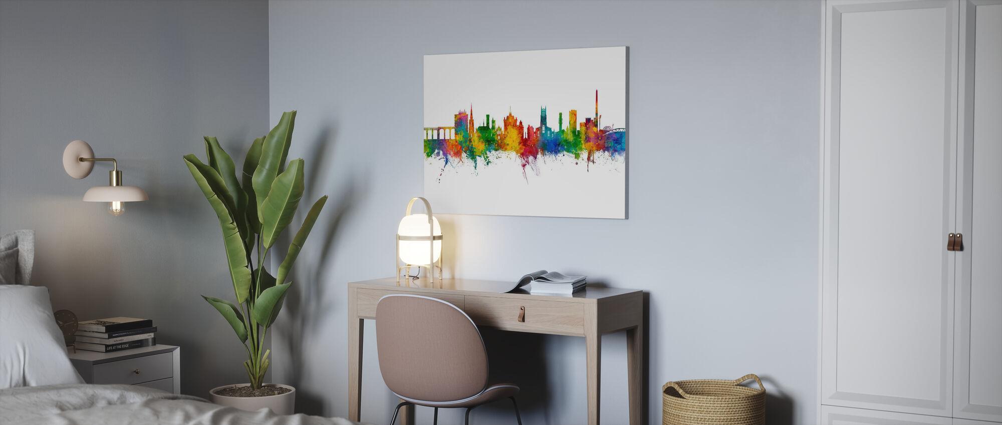 Huddersfield England Skyline - Canvas print - Office