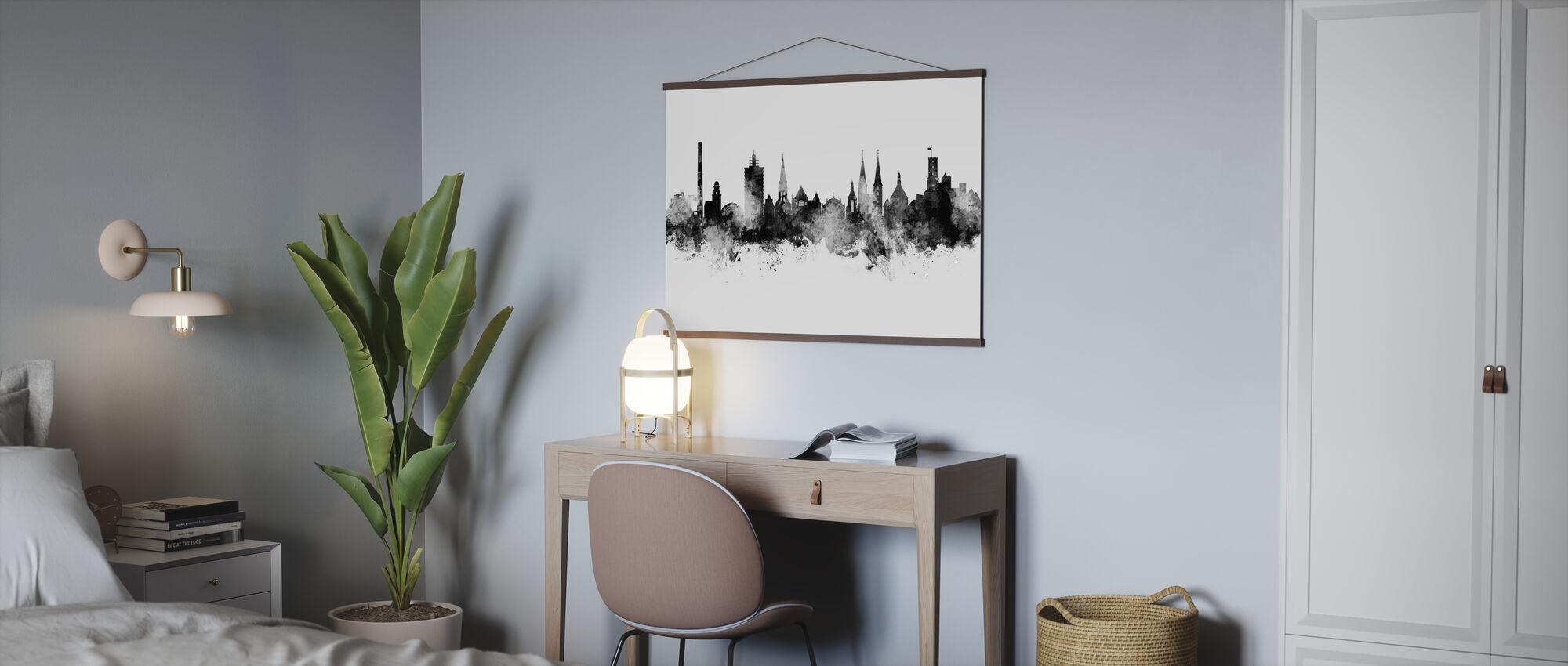 Bielefeld Deutschland Skyline - Poster - Büro