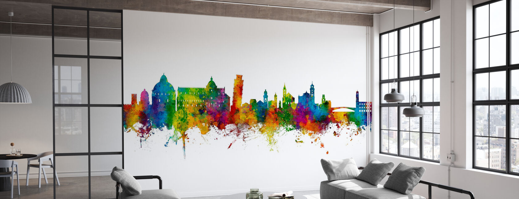 Pisa Italy Skyline - Wallpaper - Office