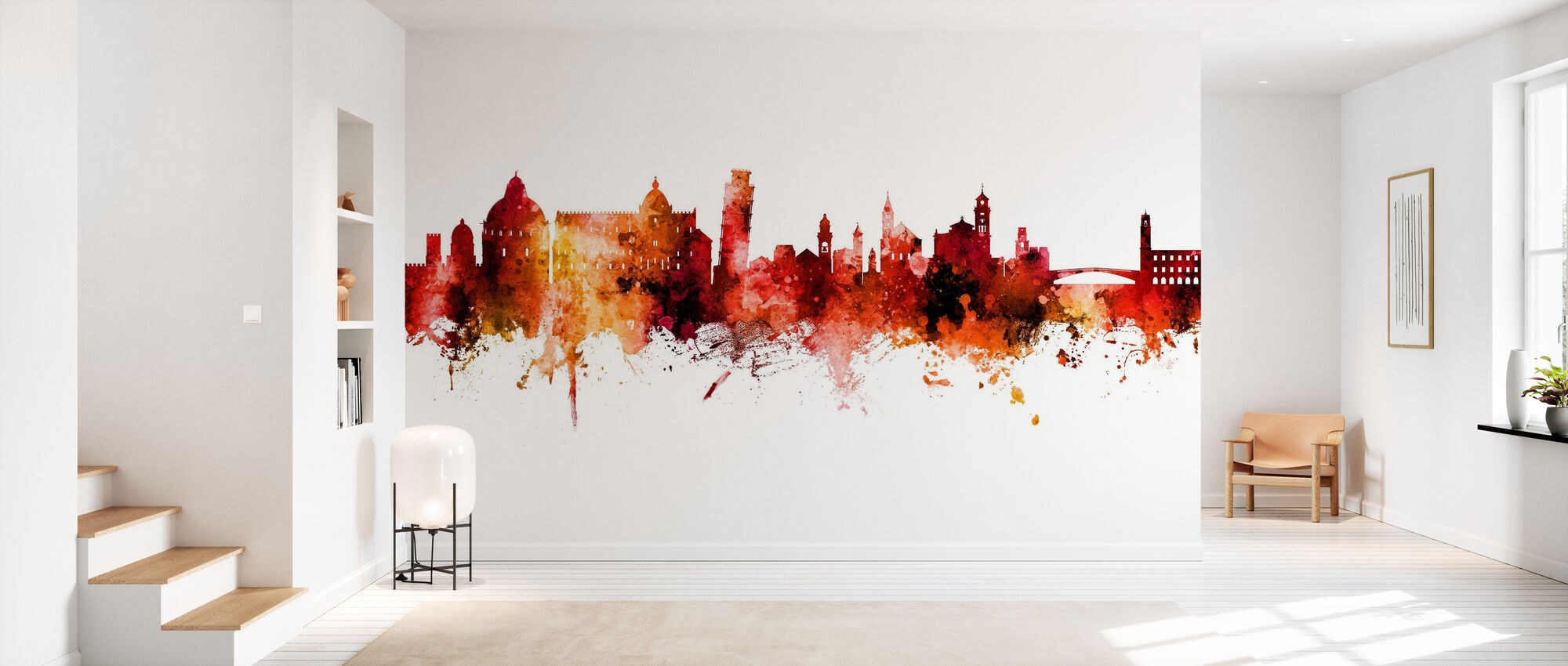 Pisa Italy Skyline - Wallpaper - Hallway