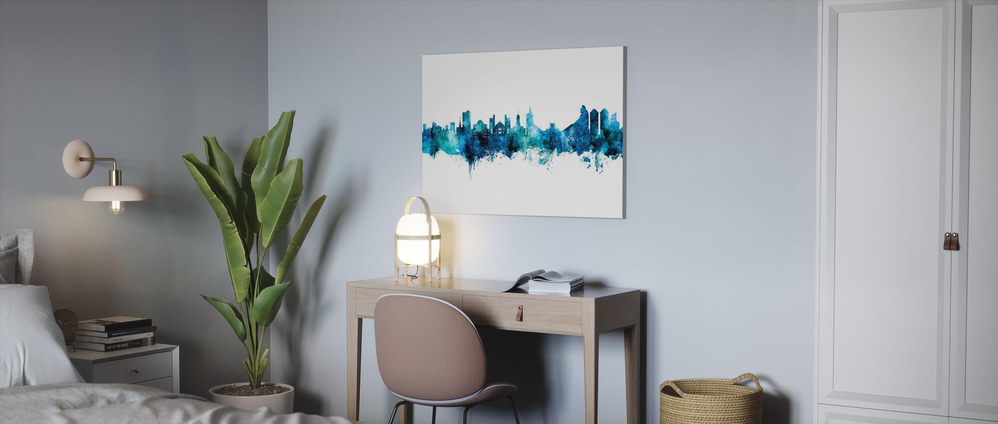 Boulder Colorado Skyline - Canvas print - Office