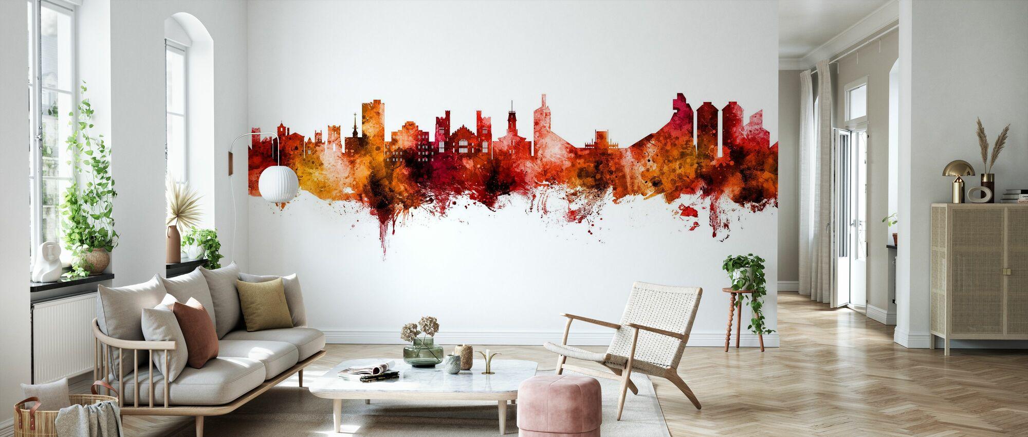 Boulder Colorado Skyline - Wallpaper - Living Room