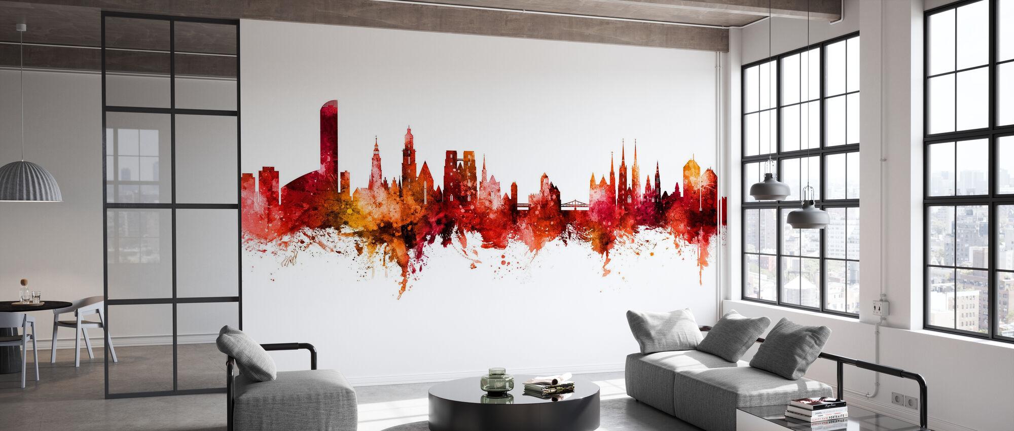 Wroclaw Poland Skyline - Wallpaper - Office