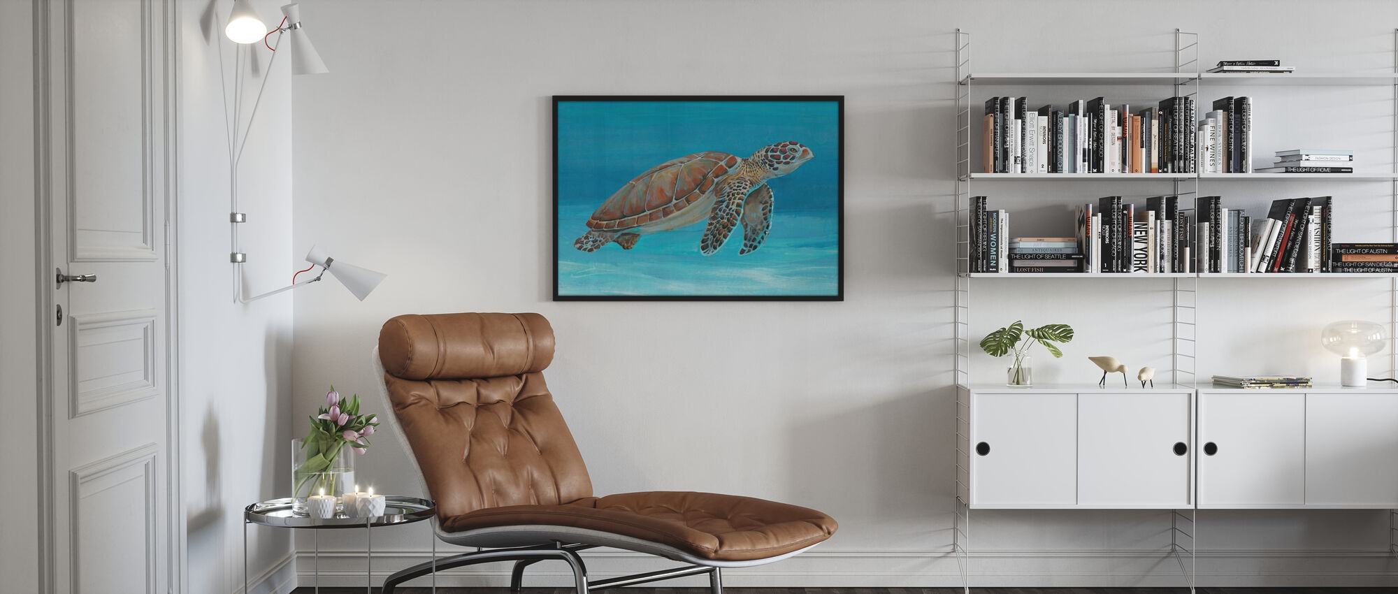 Ocean Sea Turtle - Poster - Living Room