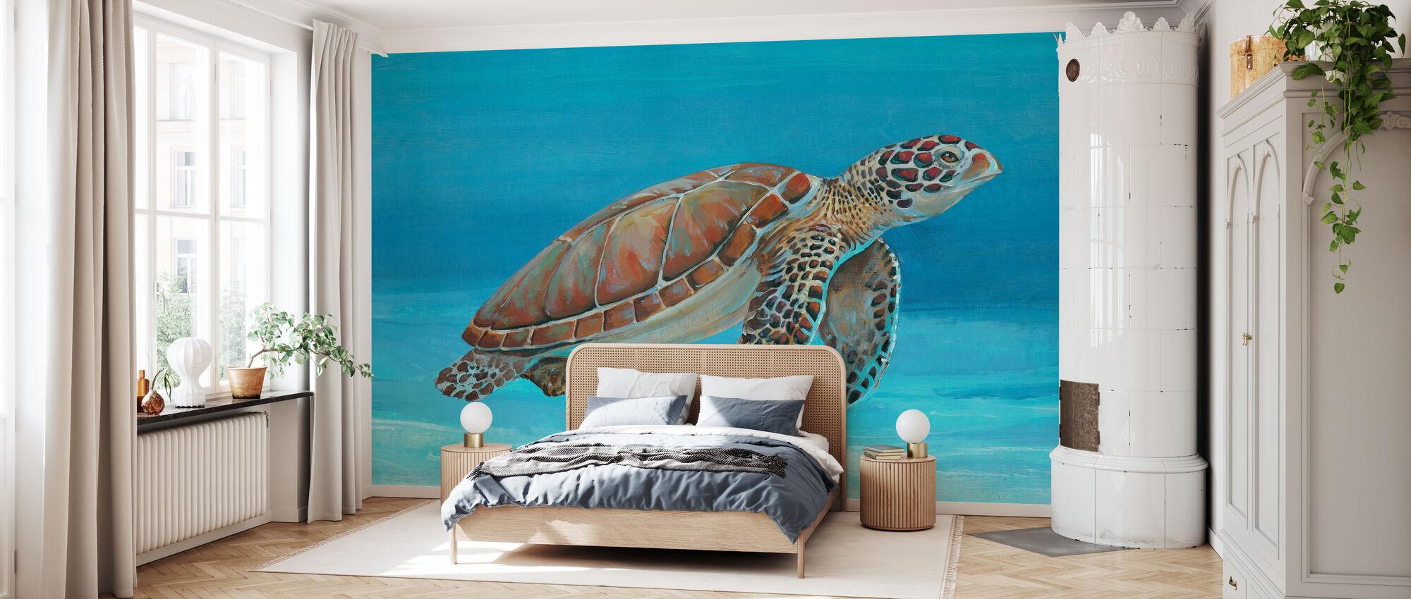 Ocean Sea Turtle - Wallpaper - Bedroom